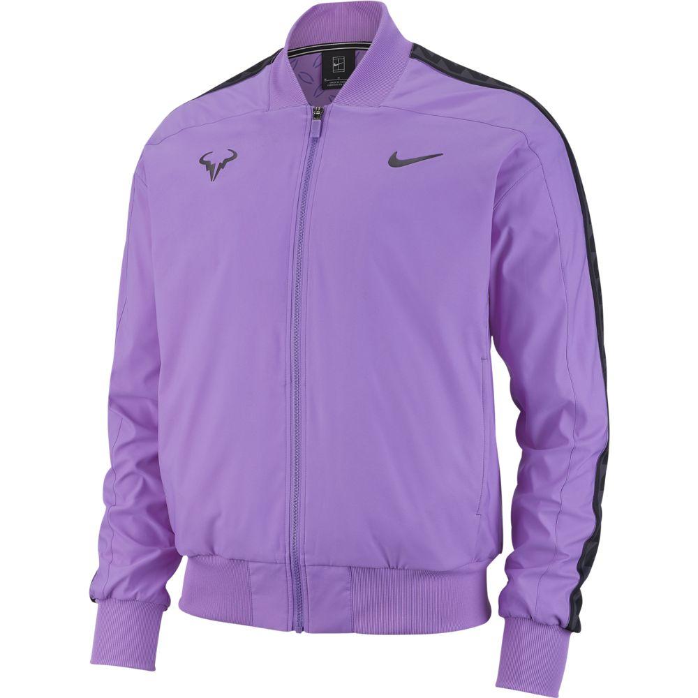 Nikecourt Rafa Nadal Purple Us Open Jacket Man Tienda Tenis