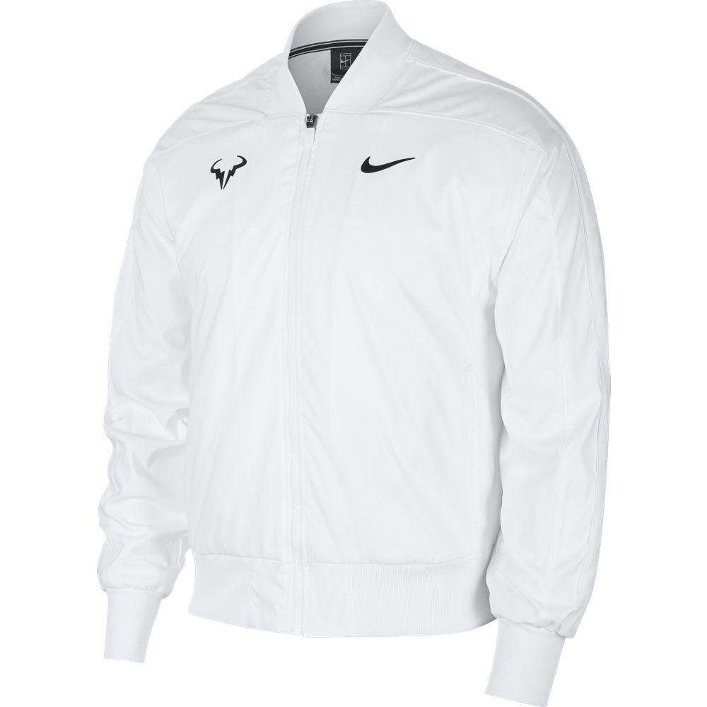 Nikecourt Rafa Nadal Blanco Us Open Jacket Man Tienda Tenis