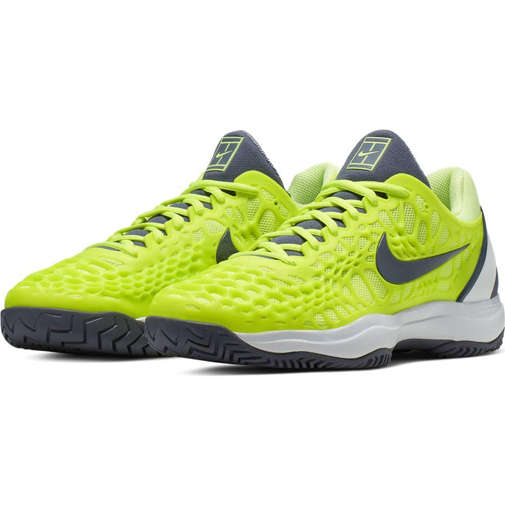 Cage 3 Hc Rafa Nadal Lime Roland Garros Shoes Man Tienda Tenis