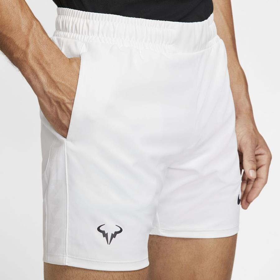 Dri Fit Rafa Nadal White Australia Open Shorts Man