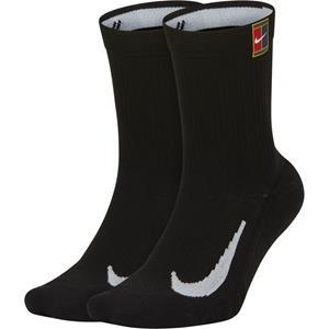 Multiplier Cushioned Negro - Calcetines Tenis Unisex