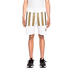 Open Stripes Blanco - Shorts Hombre