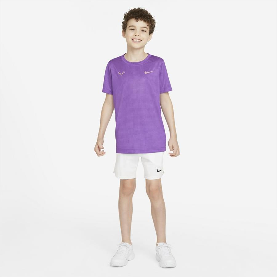 Rafa Dri-Fit Junior Lila  - Camiseta Niño/niña